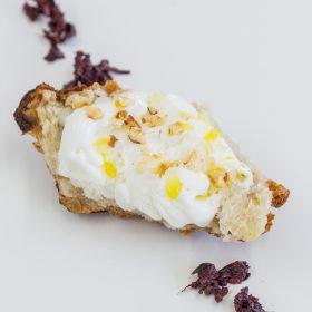 crema helada de queso de viña